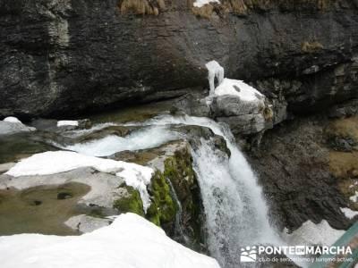 Cascadas de Soaso - Parque Nacional de Ordesa y Monte Perdido; club de senderismo en madrid; asociac